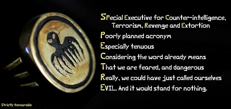 We Are SPECTRE (Acrostic)